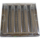 All Points 26-4609 16 inch x 16 inch x 2 inch Stainless Steel Hood Filter with Hook and Spark Arrestor - Kleen-Gard