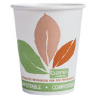 Dart Solo 370PLA-J7234 Bare Eco-Forward 10 oz. Paper Hot Cup - 1000 / Case
