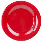 GET WP-7-RSP Red Sensation 7 1/2 inch Wide Rim Plate - 48 / Case