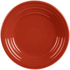Homer Laughlin 465326 Fiesta Scarlet 9 inch Luncheon Plate - 12/Case
