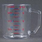 Cambro 25MCCW135 Camwear 1 Cup Clear Measuring Cup