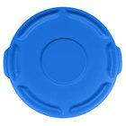 Rubbermaid BRUTE 1779700 Blue 10 Gallon Trash Can Lid