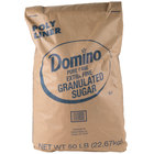 Domino Extra Fine Granulated Sugar - 50 lb.