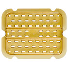 Rubbermaid FG113P00AMBR 1/4 Size Amber High Heat Drain Tray