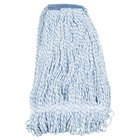 Continental A11413 32 oz. Blue and White Blend Loop End Mop Head with 1 1/4