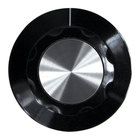 All Points 22-1522 2 inch Black and Silver Warmer Thermostat Indicator Knob