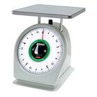 Rubbermaid Pelouze 805RWQ QuickStop 5 lb. Portion Scale - 9 inch x 9 inch Platform (FG805RWQ)