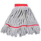 Unger ST45R SmartColor RoughMop 16 oz. Red Heavy Duty Microfiber String Mop Head
