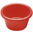 Elite Global Solutions R25SM Rio Spring Coral 2.5 oz. Melamine Ramekin