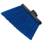 Carlisle 3686814 Duo-Sweep Heavy Duty Angled Broom Head with Unflagged Blue Bristles - 12 / Case