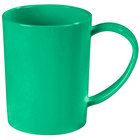 Carlisle 4306609 8 oz. Stackable Meadow Green Tritan Mug - 12 / Case
