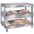 Hatco GRSDH-30D Glo-Ray 30 inch Horizontal Double Shelf Merchandiser - 120V