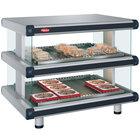 Hatco GR2SDH-30D Glo-Ray Designer 30 inch Horizontal Double Shelf Merchandiser