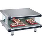 Hatco GR2SDS-54 Glo-Ray Designer 54 inch Slanted Single Shelf Merchandiser - 120V