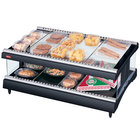 Hatco GR3SDH-33 Glo-Ray 33 inch Horizontal Single Shelf Heated Glass Merchandising Warmer - 1241W