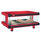 Hatco GR2SDH-48 Warm Red Glo-Ray Designer 48 inch Horizontal Single Shelf Merchandiser - 120V