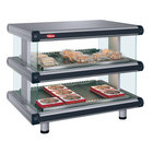 Hatco GR2SDH-24D Gray Granite Glo-Ray Designer 24 inch Horizontal Double Shelf Merchandiser - 120V