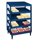 Hatco GRPWS-2418Q Navy Blue Glo-Ray 24 inch Quadruple Shelf Pizza Warmer - 1920W