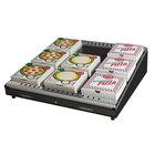 Hatco GRPWS-3624 Black Glo-Ray 36 inch Single Shelf Pizza Warmer - 720W