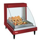 Hatco GRCDH-1P Red 20 inch Glo-Ray Full Service Single Shelf Merchandiser with Humidity Controls - 660W