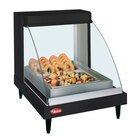 Hatco GRCDH-1P Black 20 inch Glo-Ray Full Service Single Shelf Merchandiser with Humidity Controls - 660W