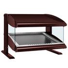 Hatco HZMS-36 Antique Copper 36 inch Slanted Single Shelf Heated Zone Merchandiser - 120V