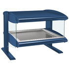 Hatco HZMH-30 Navy Blue 30 inch Horizontal Single Shelf Heated Zone Merchandiser - 120V