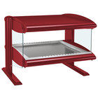 Hatco HZMH-30 Warm Red 30 inch Horizontal Single Shelf Heated Zone Merchandiser - 120V