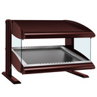 Hatco HZMS-54 Antique Copper 54 inch Slanted Single Shelf Heated Zone Merchandiser - 120V