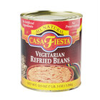 Casa Fiesta Vegetarian Refried Beans #10 Can