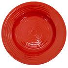 CAC TG-120-R Tango 22 oz. Red Pasta Bowl - 12 / Case