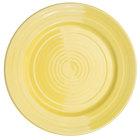 CAC TG-8-SFL Tango 9 inch Sunflower Round Plate - 24/Case