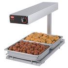 Hatco GRFFBI Glo-Ray 12 3/4 inch x 24 inch Portable Food Warmer with Infinite Controls and Heated Base - 120V, 750W