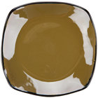 Tuxton GAJ-503 Artisan Mojave 21 oz. 10 1/2 inch Coupe Square China Pasta Plate - 12 / Case