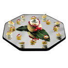 Geneva 281 28 inch Octagon Rimless Mirror Food Display Tray