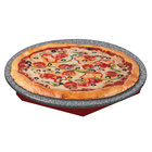Hatco GRSSR-20 Glo-Ray 20 inch Red and Gray Granite Heated Stone Shelf - 120V, 400W