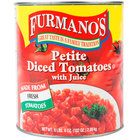 #10 Can Petite Diced Tomatoes with Juice   - 6/Case