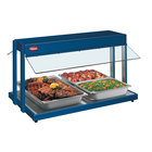 Hatco GRBW-66 66 inch Glo-Ray Navy Blue Buffet Warmer with Thermostatic Controls - 2860W