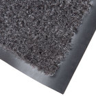 Cactus Mat 1437M-L41 Catalina Standard-Duty 4' x 10' Charcoal Olefin Carpet Entrance Floor Mat - 5/16