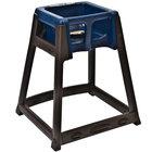 Koala Kare KB866-04 KidSitter Dark Brown Stackable Multi-Use Plastic High Chair