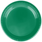 Dart Solo PS95G 9 inch Green Plastic Plate - 500/Case