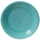Homer Laughlin 464107 Fiesta Turquoise 7 1/4 inch Salad Plate - 12 / Case