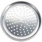 American Metalcraft HATP20P 20 inch Perforated Wide Rim Pizza Pan - Heavy Weight Aluminum