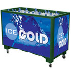 Green Extra Large Ice Saver 065 Mobile 140 Qt. Frost Box with Casters