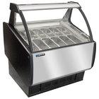 Master-Bilt GEL-6 Gelato Merchandiser / Dipping Cabinet - 46 inch