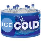 Blue Icer 400 20 Qt. Round Countertop Merchandiser