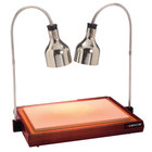 Cres Cor CSH-122-10PN Carving Station with Dual Heat Lamps - 32 1/2 inch x 23 1/4 inch