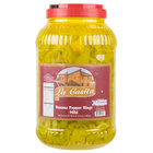 Mild Banana Pepper Rings - (4) 1 Gallon Containers / Case