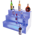Cal-Mil LQ31 3 Step Bottle Display with LED Light - 18