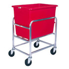 Winholt 30-6-SS/RD Stainless Steel Bulk Mover with 6 Bushel Red Tub